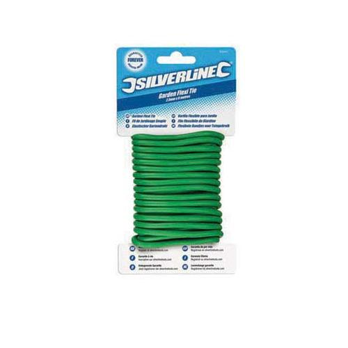 Silverline Twisty Ties 4.8mm x 5m Gardening DIY Tool