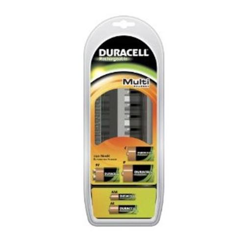 duracell cef22 multi charger suitable for aa aaa c d 9v. Black Bedroom Furniture Sets. Home Design Ideas