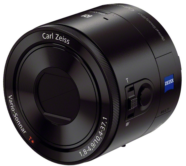 Sony DSC-QX100 20.2MP Carl Zeiss Wireless Lens Style Camera for Smartphones