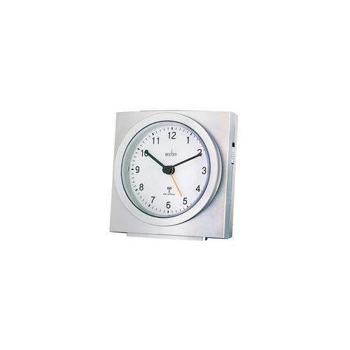 71557 acctim alarm clock analogue radio controlled ebay. Black Bedroom Furniture Sets. Home Design Ideas