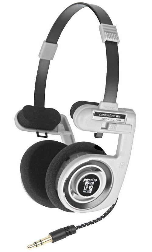 00164230 koss audio video headphones porta pro white - Koss porta pro ...