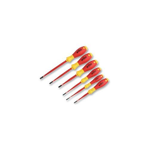 screwdriver set vde slim fit wiha 35389 ebay. Black Bedroom Furniture Sets. Home Design Ideas