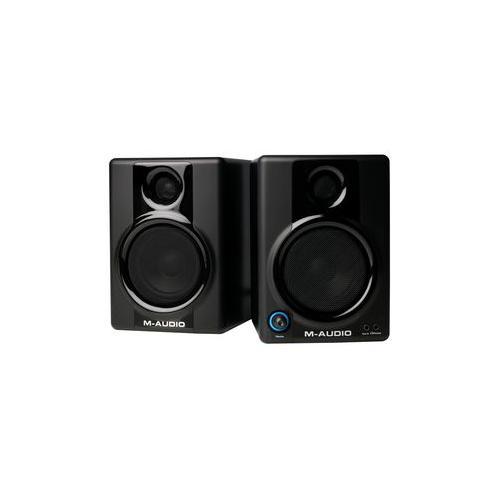 av30 m audio monitor speakers 3 10w ebay. Black Bedroom Furniture Sets. Home Design Ideas