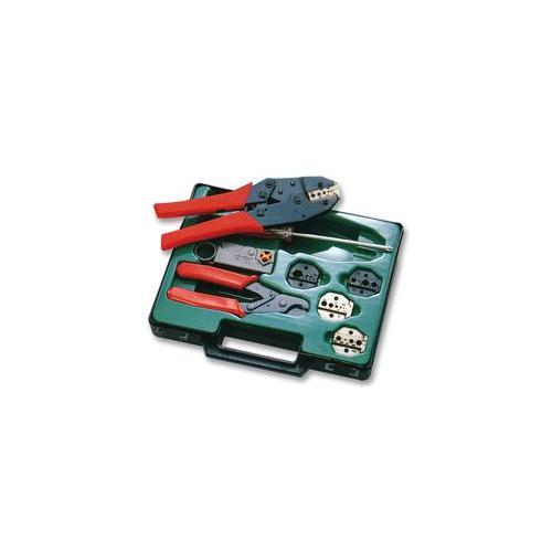 pro 39 s kit 6pk 330k coaxial crimping tool kit. Black Bedroom Furniture Sets. Home Design Ideas