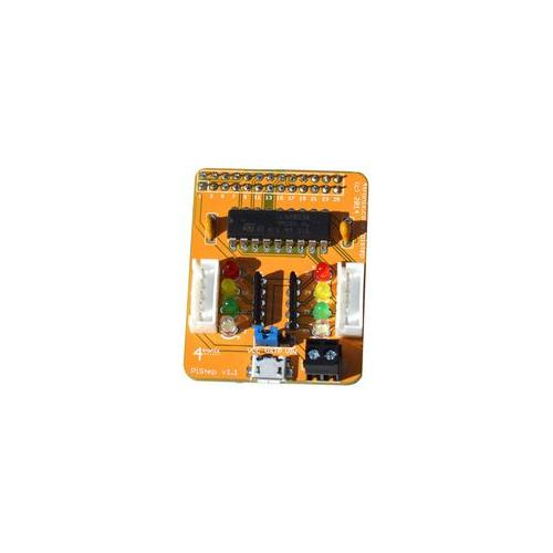 Pistep 4tronix stepper motor control board for raspberry for Raspberry pi stepper motor control
