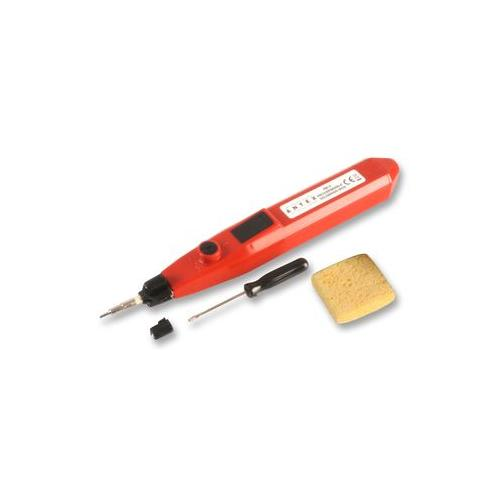 antex xeee010 soldering iron battery powered ebay. Black Bedroom Furniture Sets. Home Design Ideas