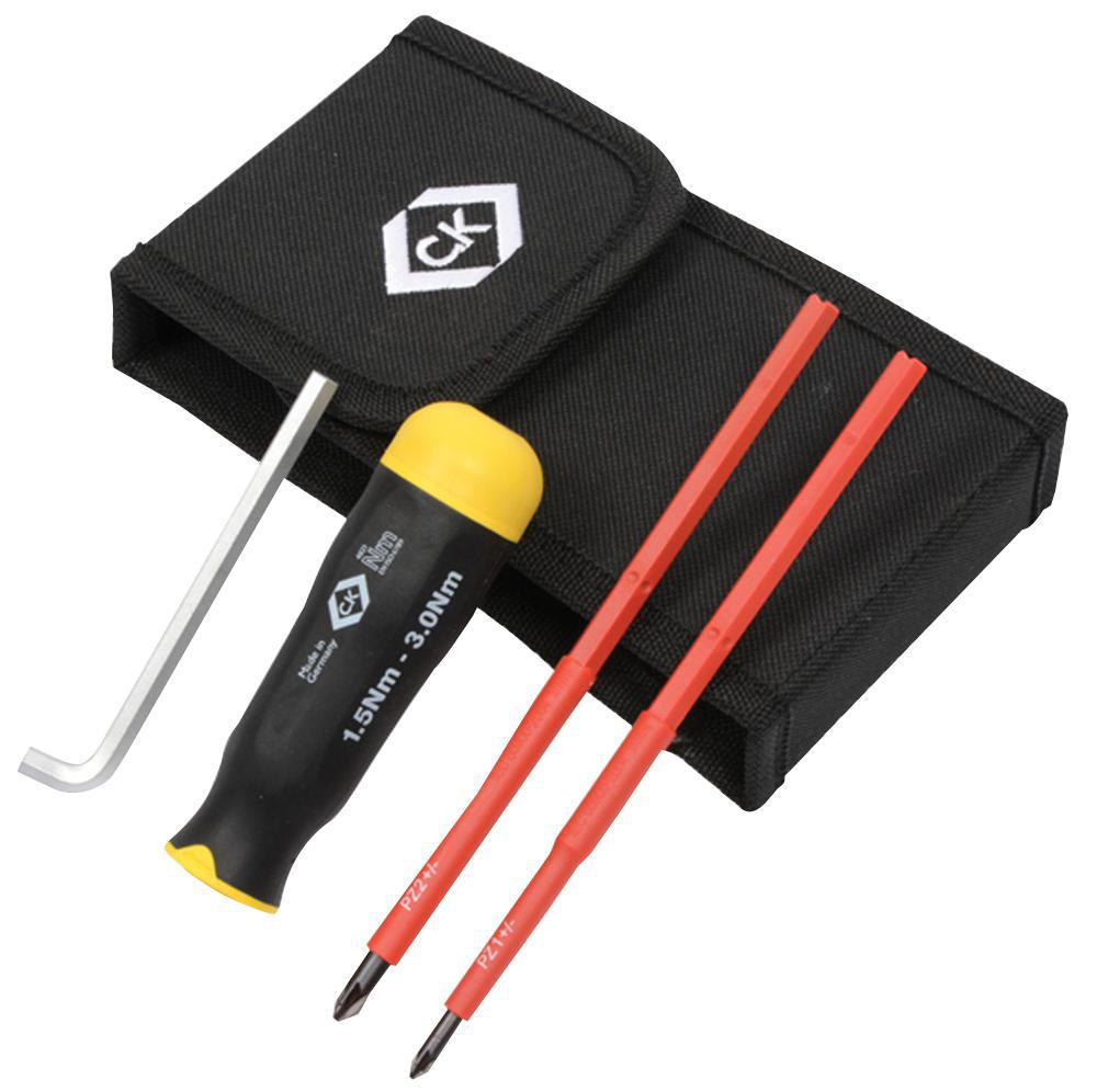 ck tools t4821 vde torque screwdriver set 1 5 3 0 nm ebay. Black Bedroom Furniture Sets. Home Design Ideas