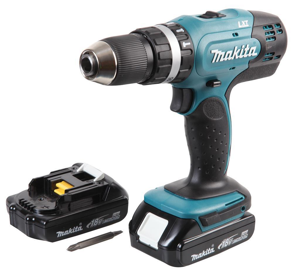 makita dhp453ryx5 18v combi drill 101 bit set kit ebay. Black Bedroom Furniture Sets. Home Design Ideas