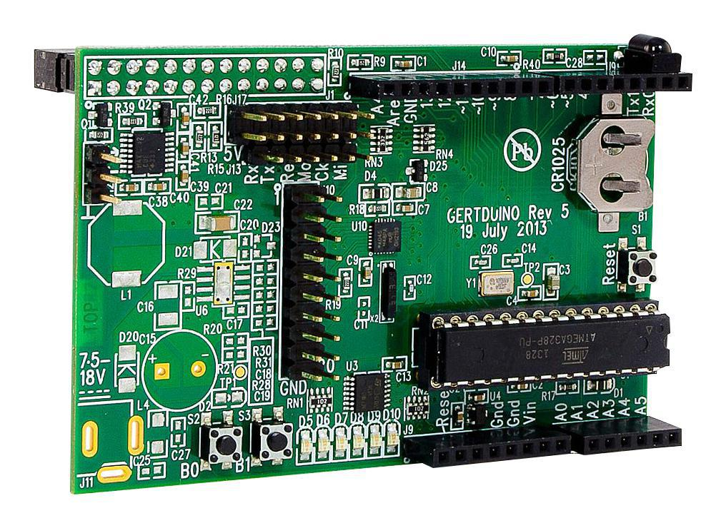 Gertboard arduino uno compatible gpio expansion board