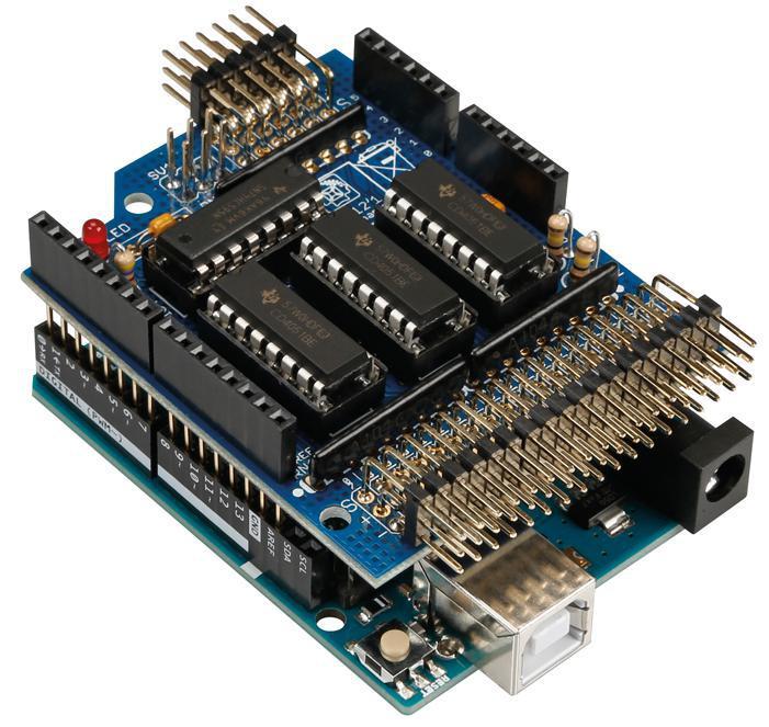 Velleman kit ka analogue input extension shield for