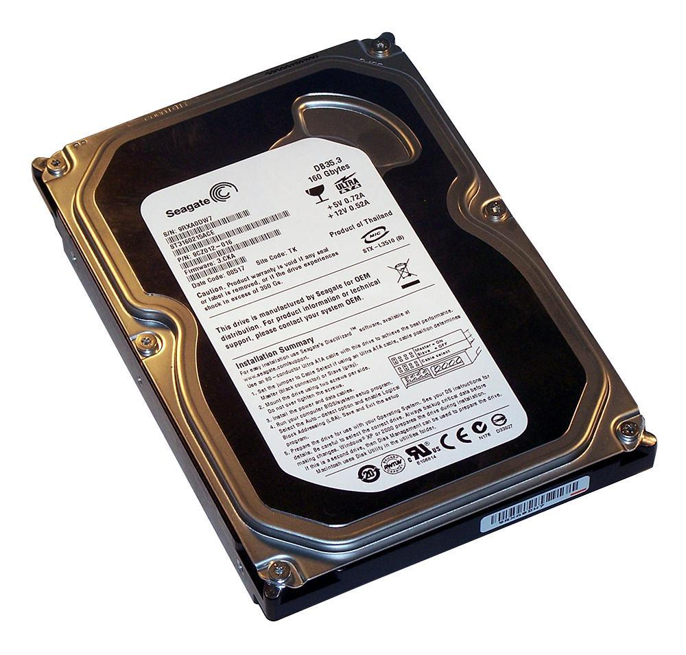 Seagate St3160215ace Recertified 3 5 Quot Ide Internal