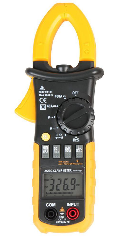 Ac Dc Digital Clamp Meter : Duratool ac dc digital clamp meter with voltage