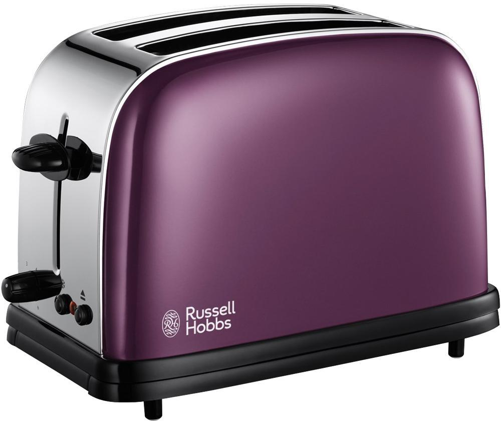 russell hobbs 14963 2 slice toaster ss purple 1100w ebay. Black Bedroom Furniture Sets. Home Design Ideas