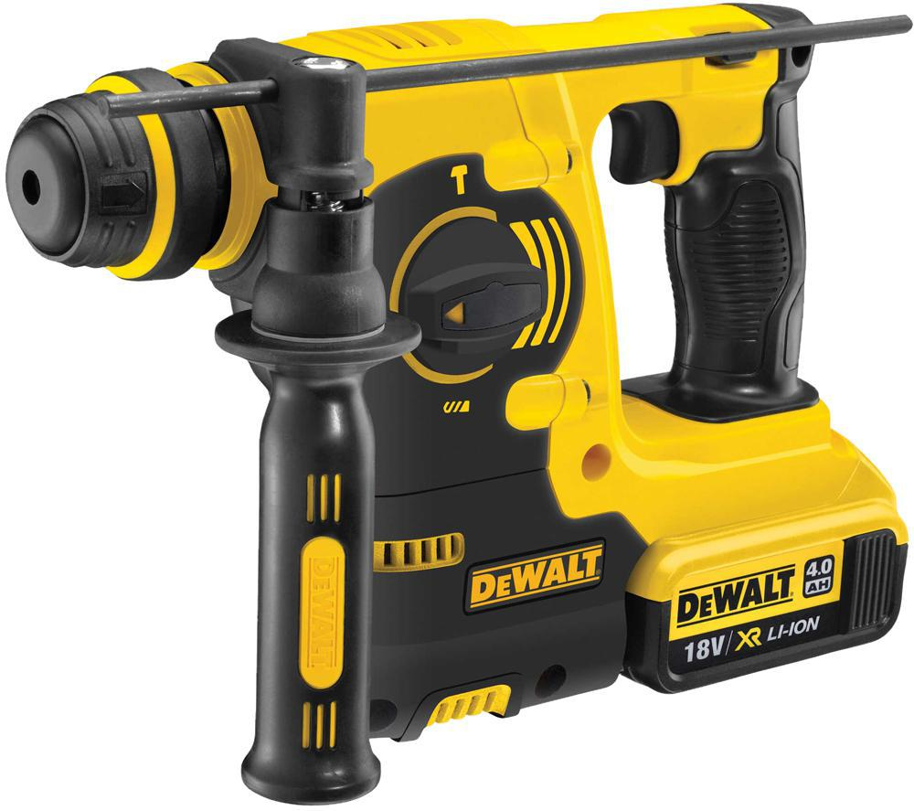 dewalt dch253m1 gb sds hammer drill 18v xr 1x4ah ebay. Black Bedroom Furniture Sets. Home Design Ideas