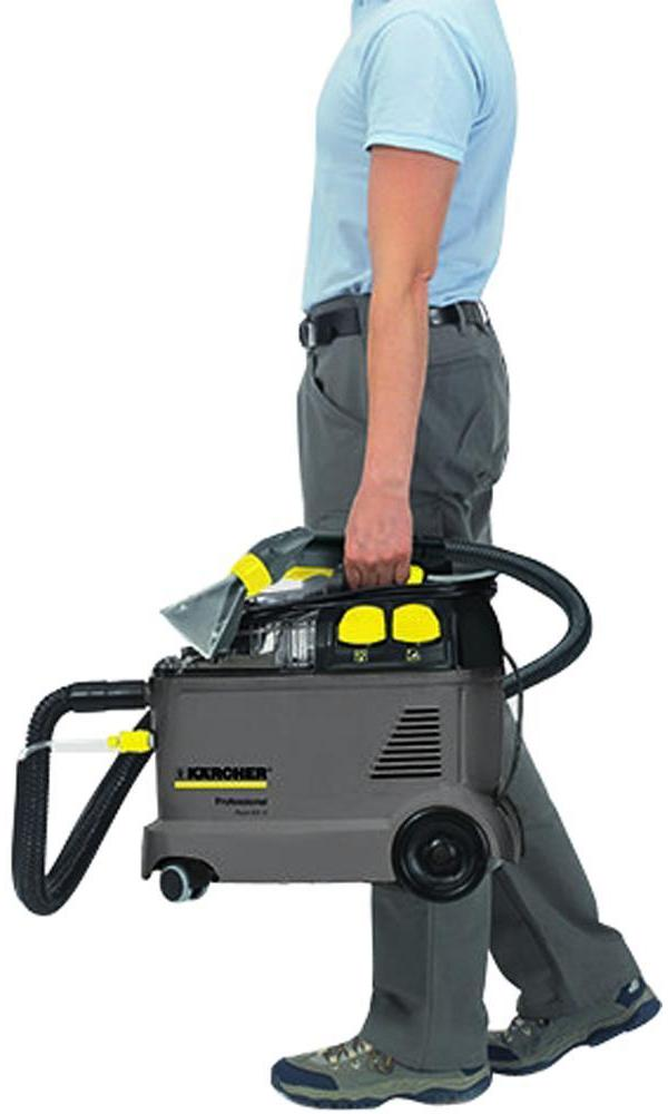 karcher puzzi 8 1c 1200w professional upholstery and carpet cleaner ebay. Black Bedroom Furniture Sets. Home Design Ideas