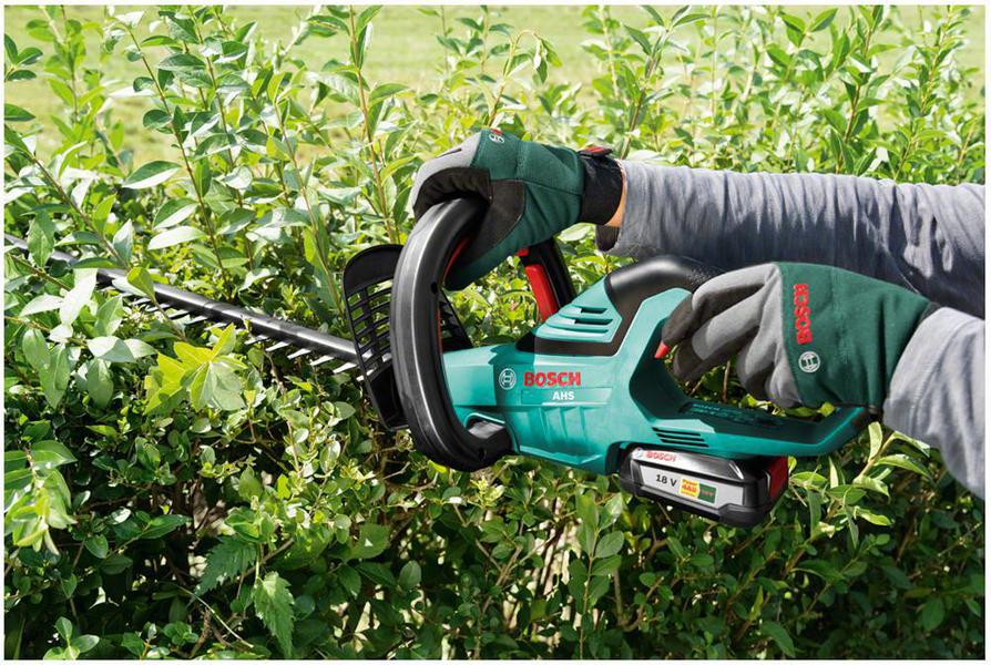 bosch ahs 55 20 li 18v li ion hedge cutter ebay. Black Bedroom Furniture Sets. Home Design Ideas