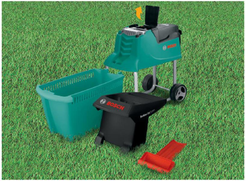 bosch axt 25 tc garden shredder quiet 2500w 45mm ebay. Black Bedroom Furniture Sets. Home Design Ideas