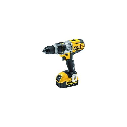 dcd985m2 gb dewalt combi drill 18v 4ah 3 speed ebay. Black Bedroom Furniture Sets. Home Design Ideas