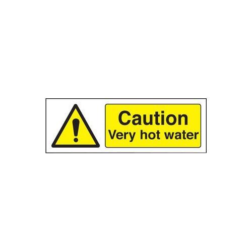 Signe mise en garde tr s eau chaude adh sif vinyle 24236a ebay - Mise en demeure restitution caution ...