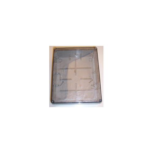 OL20033 IP56 Plain sided Transparent Lid Junction box