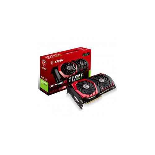 видеокарта msi gtx 1070 gaming x 8g 8192mb