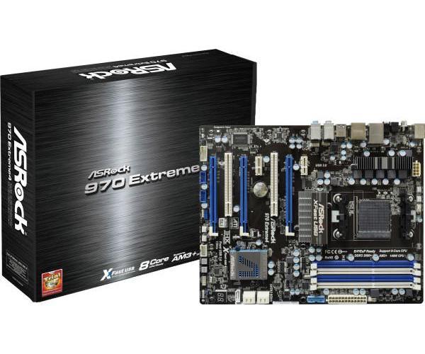 ASRock 970 EXTREME4 970 Extreme4 Motherboard AMD Socket AM3 970 ATX RAID Gigabit
