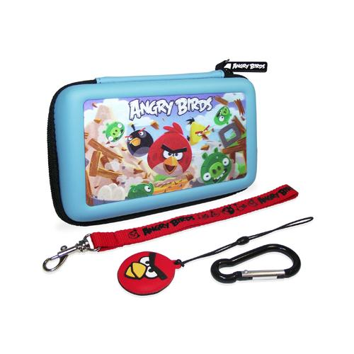 ANGRY BIRDS 3D Gamer Carry Case Set For Nintendo DSi/3DS
