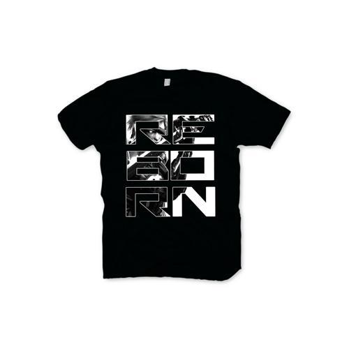 GE1642M-METAL-GEAR-SOLID-Rising-Reborn-Medium-T-Shirt-Black