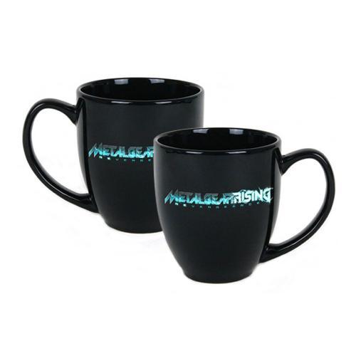 GE0461 METAL GEAR Rising: Revengeance Logo Coffee Mug, Black