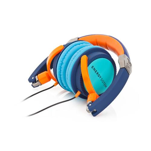 ENERGY SISTEM Energy DJ 400 Deep Bass DJ Style Headphone, Blue Turquoise 384082