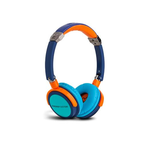 ENERGY SISTEM Energy DJ 400 Deep Bass DJ Style Headphone, Blue Turquoise 384082