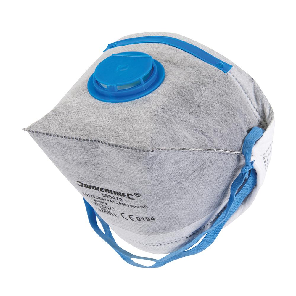 Fold Flat Valved Face Mask FFP2 NR Single Respiratory ...