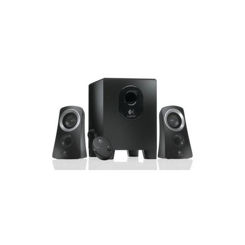 logitech z313 speaker system black 980 000447 5099206024243 ebay. Black Bedroom Furniture Sets. Home Design Ideas