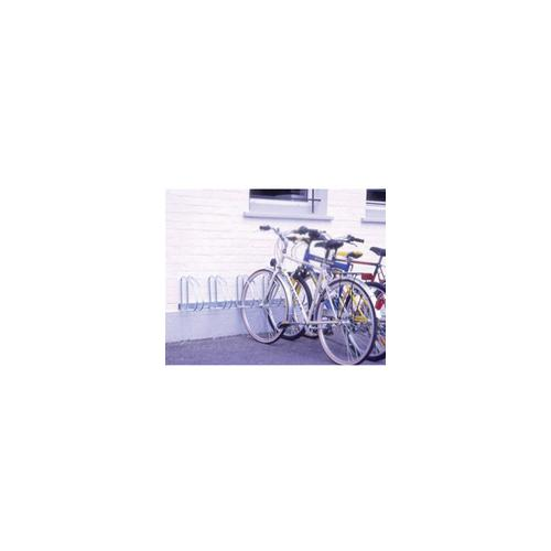 320079 , Wall/Floor Mounted Cycle Rack 4-Bike Aluminium