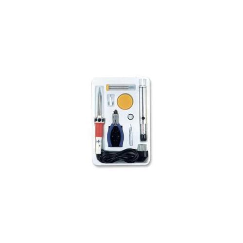 soldering iron uk plug 30w plus accessories starter kit ebay. Black Bedroom Furniture Sets. Home Design Ideas
