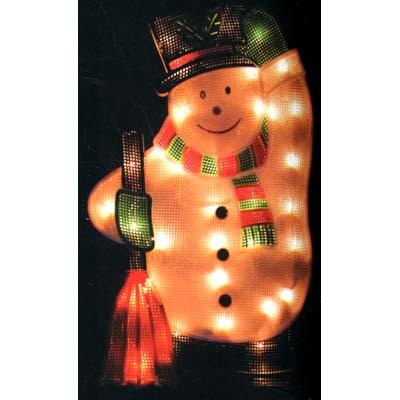 weihnachts beleuchtung innen und au en schneemann silhouette weihnachten ebay. Black Bedroom Furniture Sets. Home Design Ideas