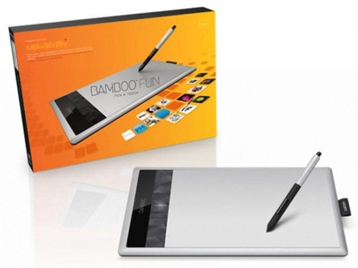 wacom bamboo cth 670 medium fun pen and touch tablet cth 670s en ebay. Black Bedroom Furniture Sets. Home Design Ideas