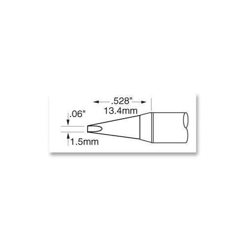 GA44959-OKI-METCAL-SFV-CH15A-TIP-SOLDERING-CHISEL-LONG-1-5MM