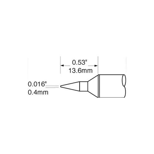 GA44007-OKI-METCAL-SFV-CNL04-SOLDER-TIP-CONICAL-LONG-REACH-0-4MM
