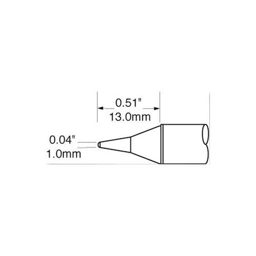 GA44968-OKI-METCAL-SFV-CNL10-SOLDER-TIP-CONICAL-1MM