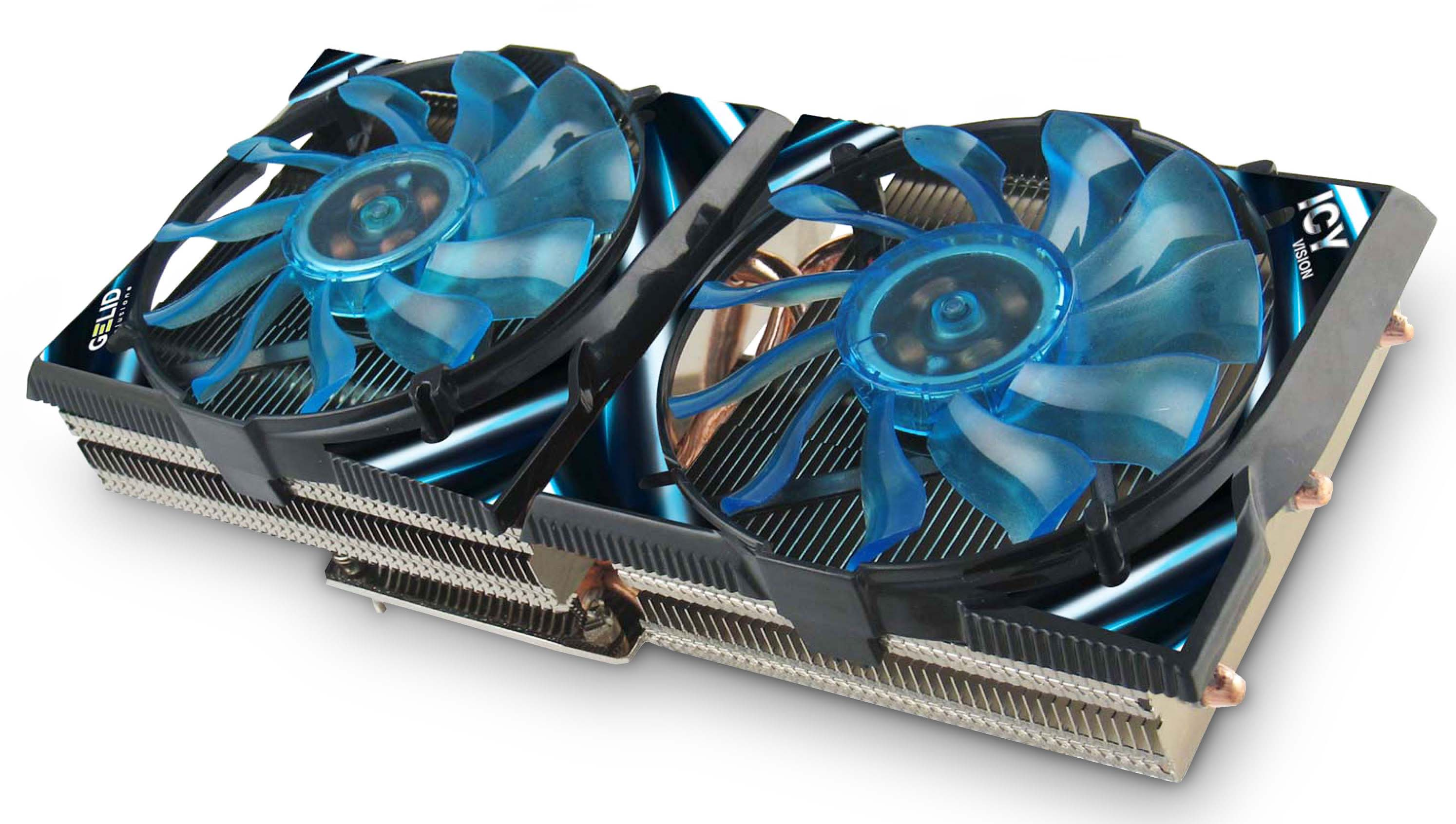 Gelid Icy Vision Rev.2 VGA Cooler for High-end ATI and Nvidia