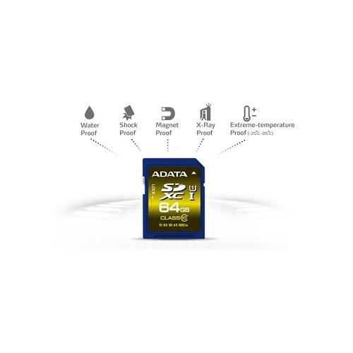GD6184 ADATA Premier Pro 600x SDXC 64GB UHS-I U1 Class 10 Speicherkarte