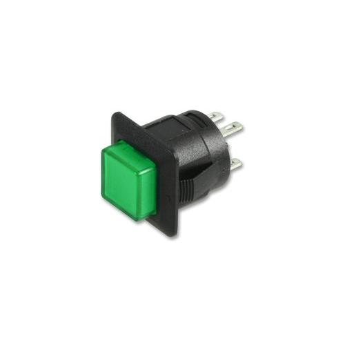 GD24025 PPSW-555G12 Multicomp Schalter, Taster, 12V DC, Led Grün