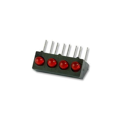 GD15210 107-305-04 Marl Led, PCB, 3 mm, Quad, Rot