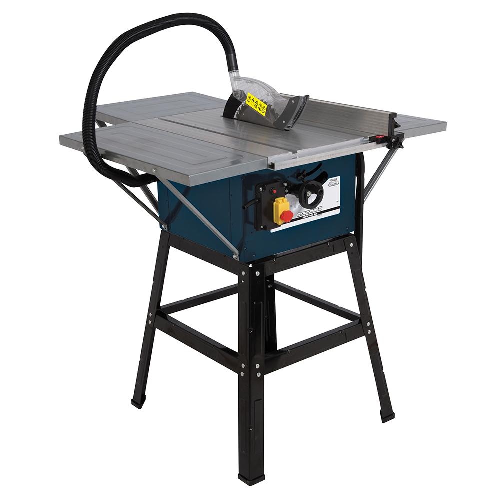 T1108 Silverline Silverstorm 1600w Table Saw 254mm Power Tool Saw