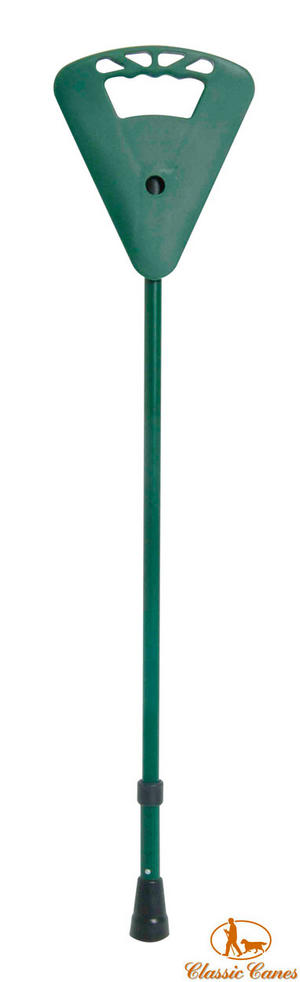 Classic Canes Flipstick Height Adjustable Seat Stick in Green Preview