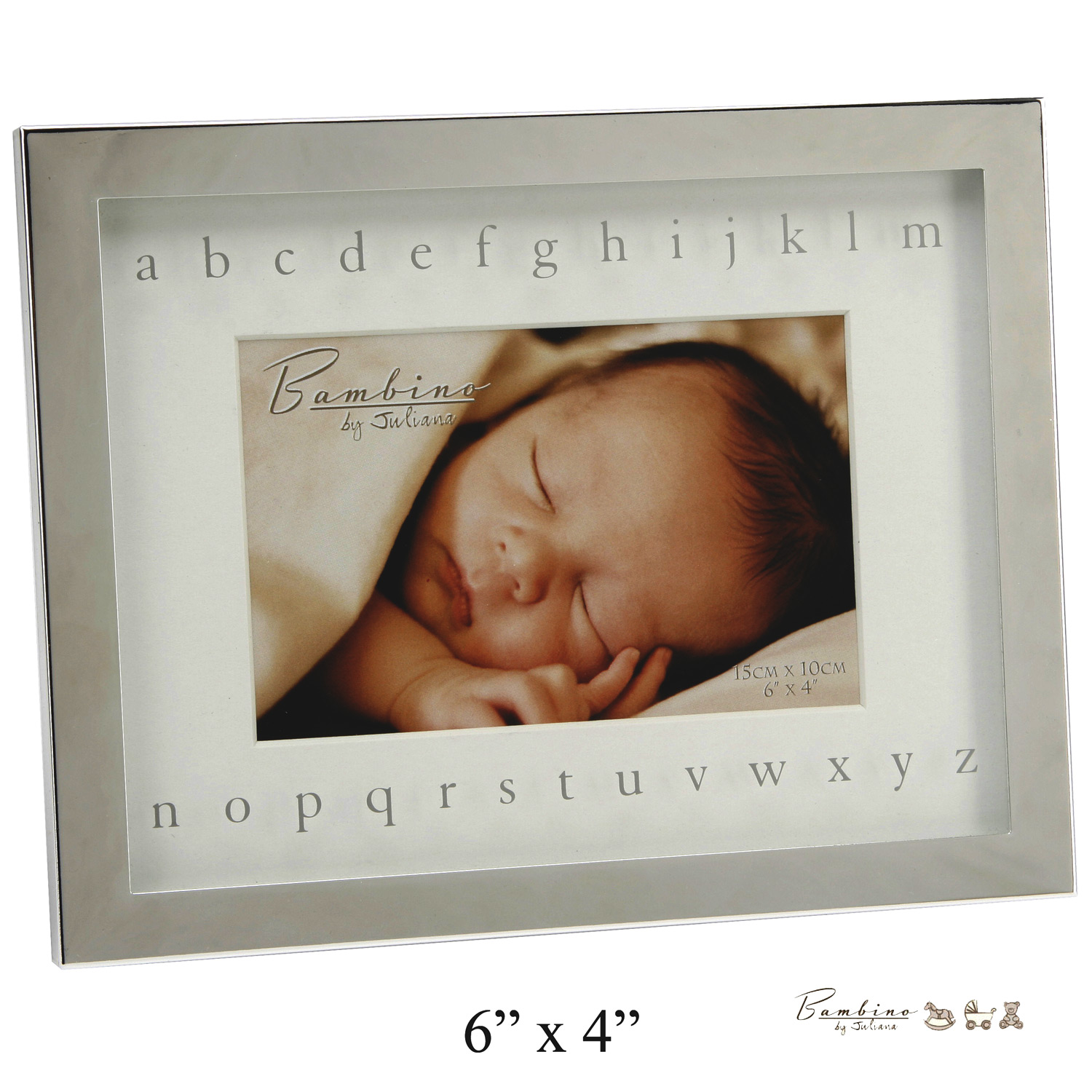 Baby Gift Emporium : Bambino baby christening gifts photo frame mirror alphabet