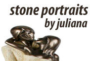 Stone Portraits By Juliana