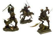 Samurai Statues