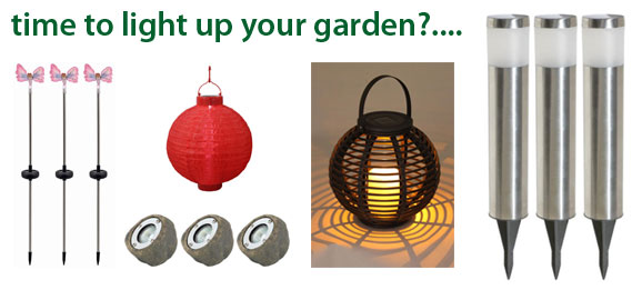 Light up your garden this season with The Emporium Direct's range of garden lighting!